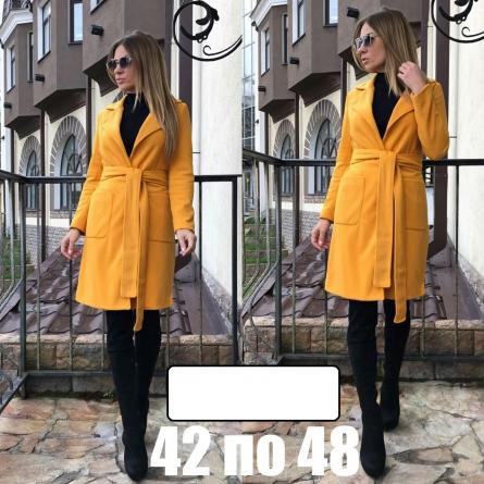 длинное пальто 119166