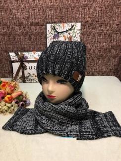 , Шапка и шарф 219402