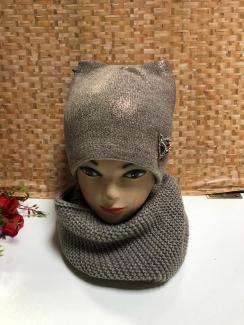 , Шапка и шарф 219378