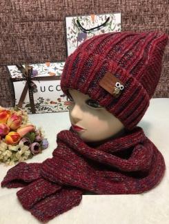 , Шапка и шарф 219400
