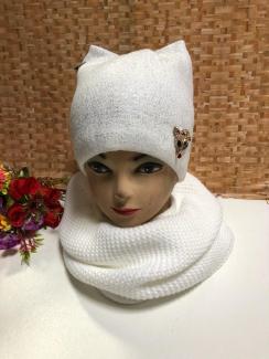 , Шапка и шарф 219387