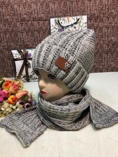 , Шапка и шарф 219405