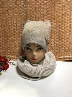 , Шапка и шарф 219397