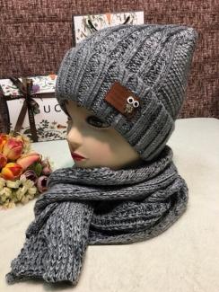 , Шапка и шарф 219403
